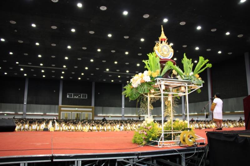 ซ้อมใหญ่พิธีพระราชทานปริญญาบัตร ประจำปีการศึกษา 2560