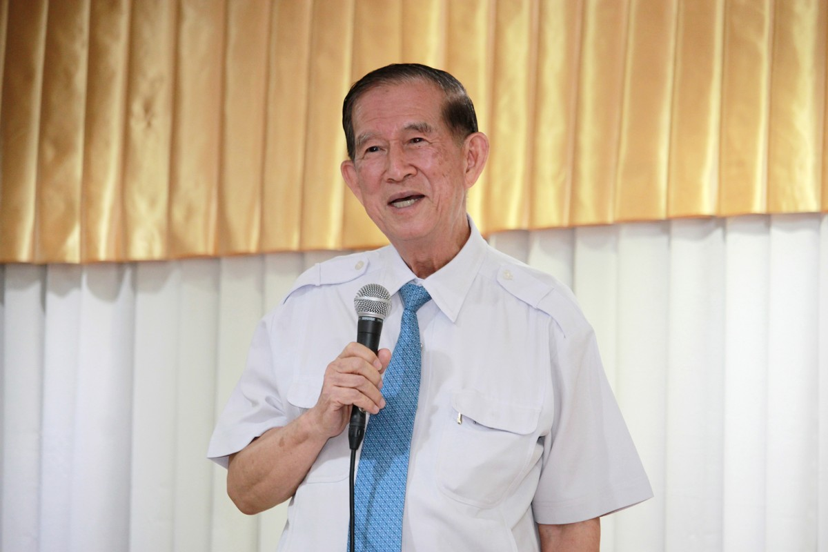 การบรรยายพิเศษ 150 ปี วิทยาศาสตร์ไทย โดย ดร.อาจอง ชุมสาย ณ อยุธยา ในงานสัปดาห์วิทยาศาสตร์แห่งชาติ มทร.ล้านนา ตาก