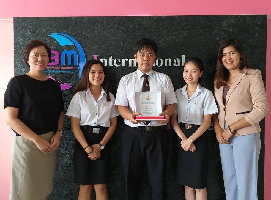 Congratulations to IBM's student for their 1st place reward from The Language and Society Skills Competition