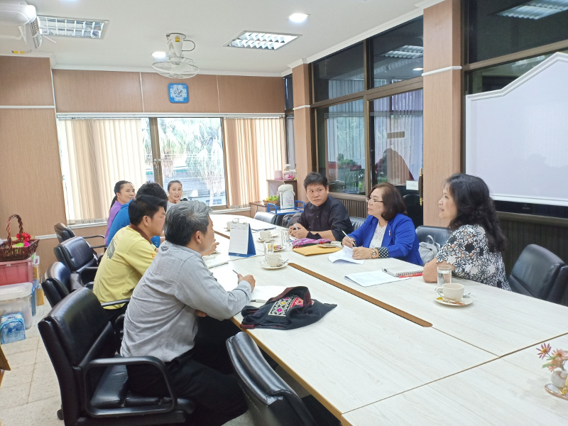 ศูนย์วัฒนธรรมศึกษา เข้าร่วมการประชุมเตรียมความพร้อมงานกฐิน ประจำปีพ.ศ.2561
