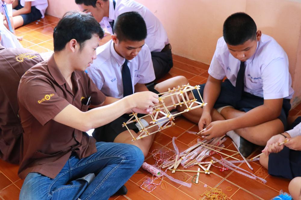 มทร.ล้านนา เชียงราย ร่วมจัดกิจกรรม STEM ในงานกิจกรรมวันวิทยาศาสตร์บูรณาการสะเต็มศึกษา ณ โรงเรียนป่าแดงวิทยา