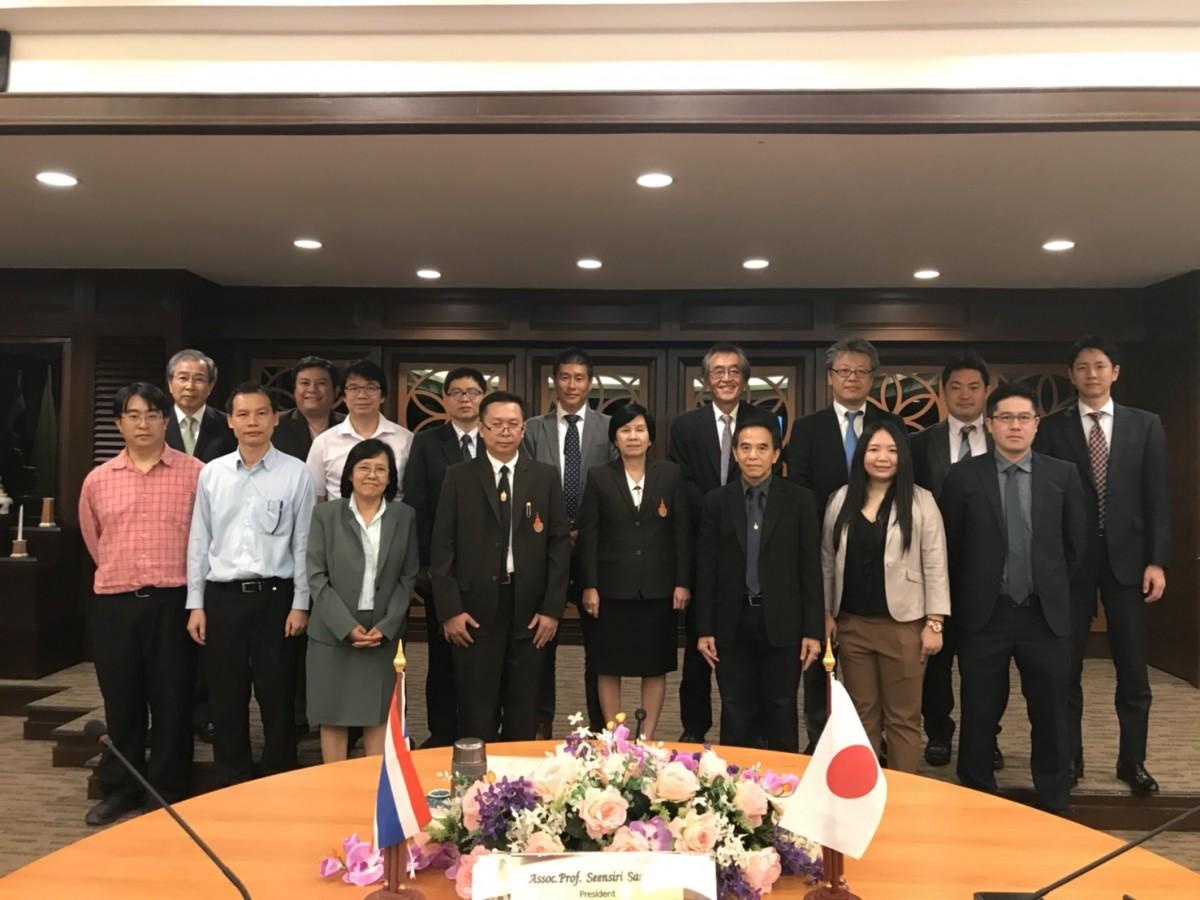 การประชุมร่วมกับคณะผู้แทนจากบริษัท Okaya CO., Ltd. ประเทศญี่ปุ่น