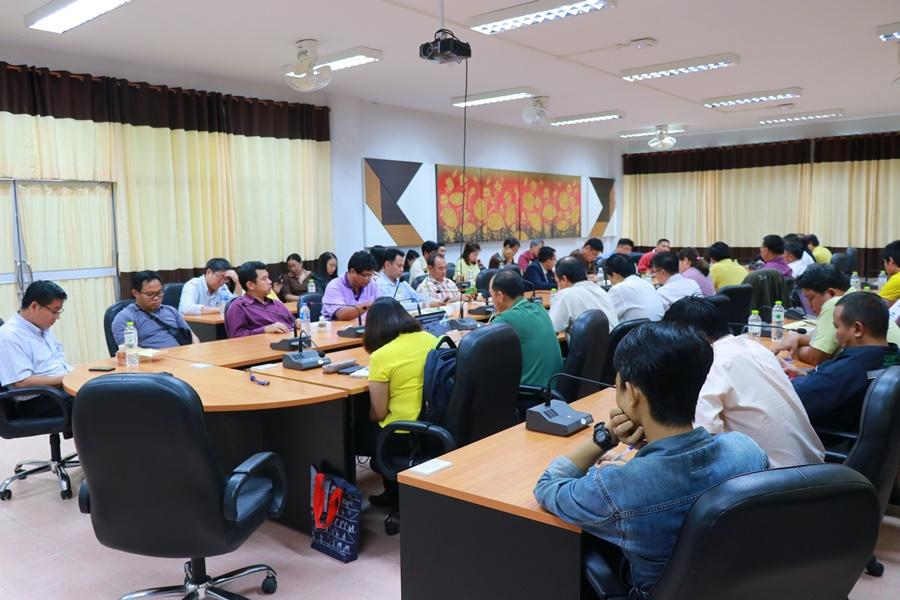 ประชุมการสร้างความเข้าใจการบริหารงานคณะวิศวกรรมศาสตร์รูปแบบใหม่และแผนปฏิบัติราชการประจำปีงบประมาณ 2562