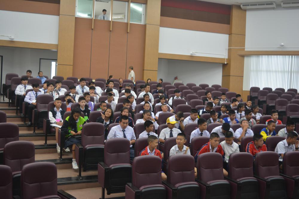 โครงการค่ายอิเล็กทรอนิกส์รุ่นเยาว์ ประจำปี 2561 โดยหลักสูตรวิศวกรรมอิเล็กทรอนิกส์ มทร.ล้านนา เชียงราย ร่วมกับ NECTEC