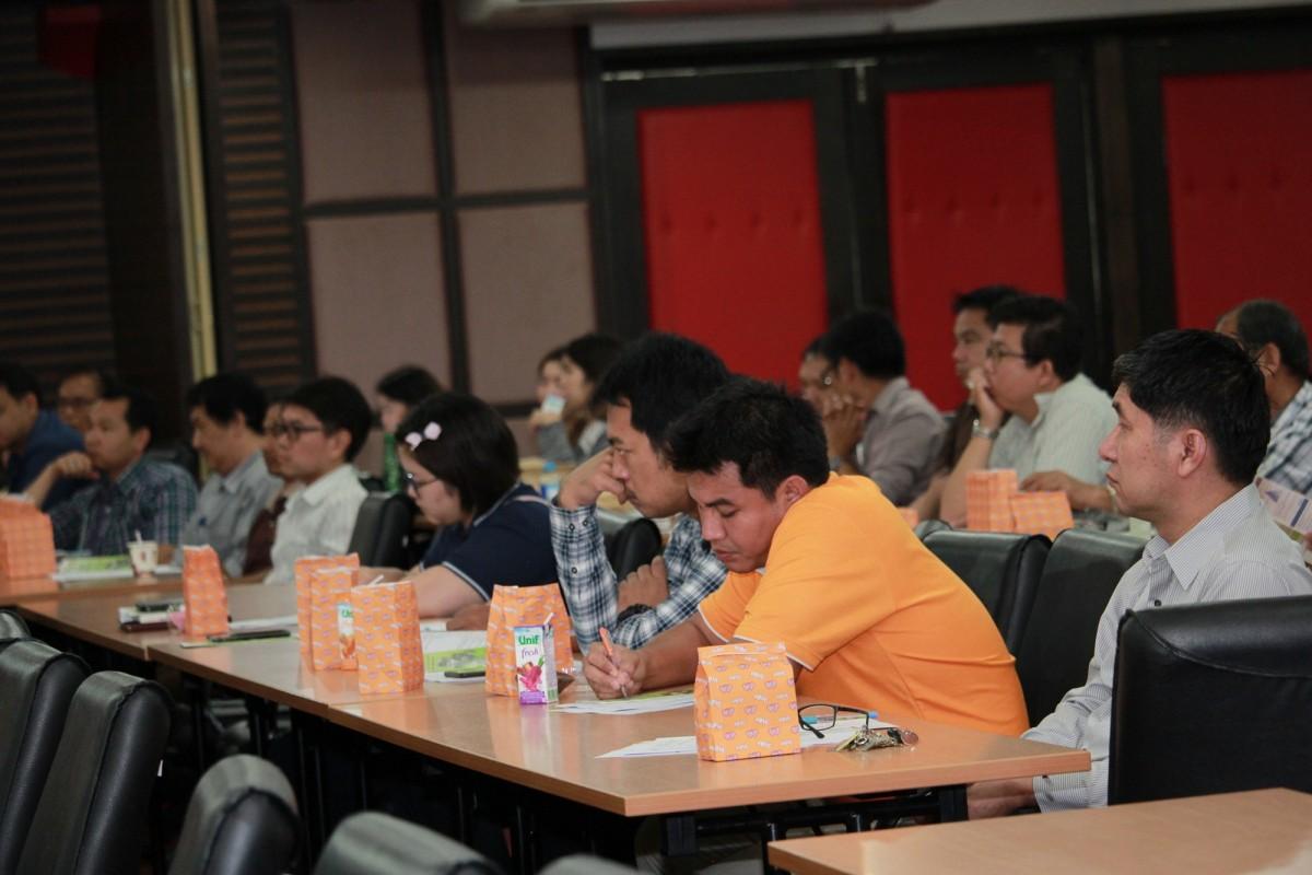 ประชุมสร้างความเข้าใจการบริหารงานคณะวิศวกรรมศาสตร์