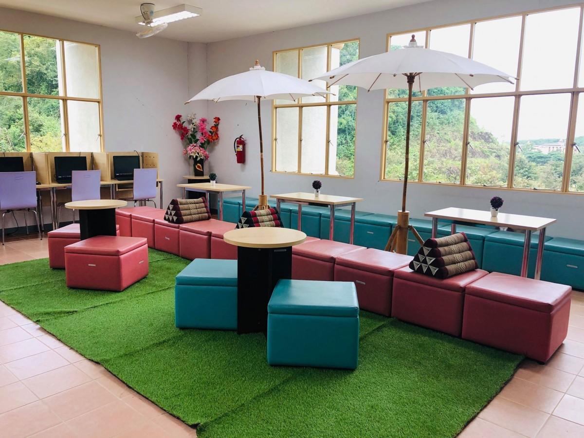 ประชาสัมพันธ์แนะนำ Co-Working Space ใหม่ของห้องสมุด