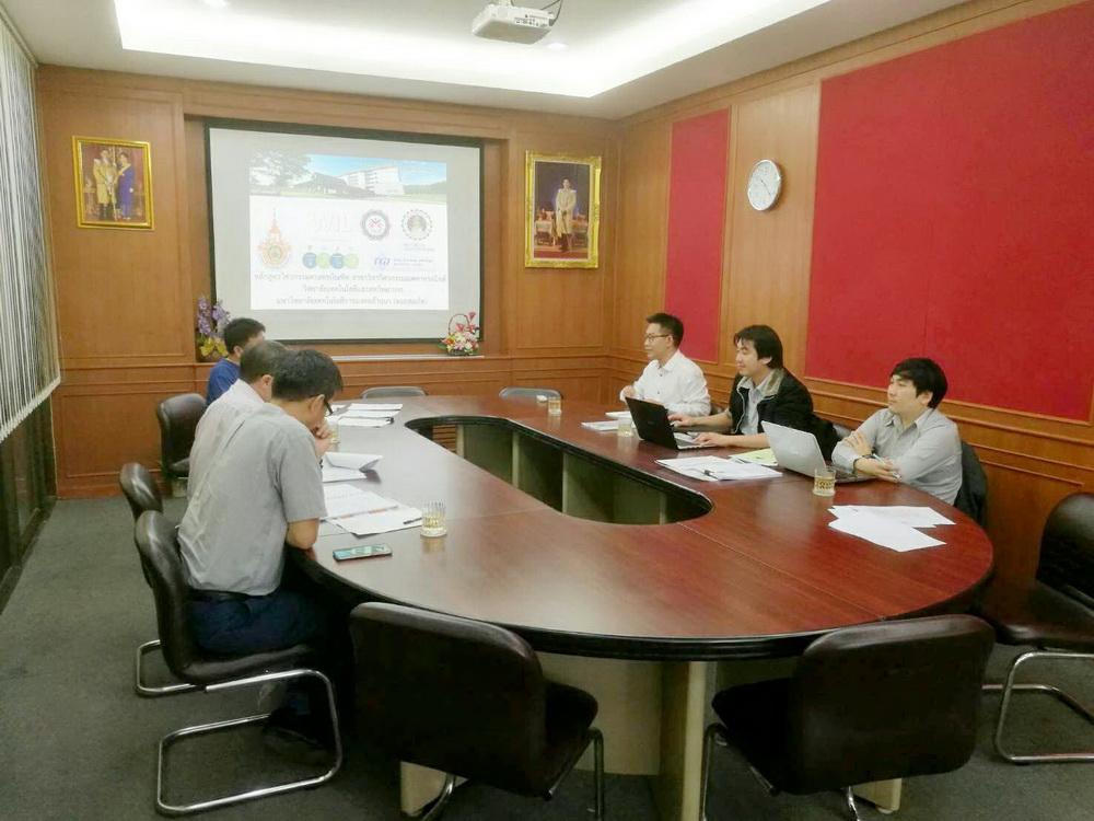 บุคลากรวิทยาลัยฯ เข้าร่วมประชุมความร่วมมือหลักสูตรวิศวกรรมเมคาทรอนิกส์ร่วมกับวิทยาลัยเทคนิคเชียงราย