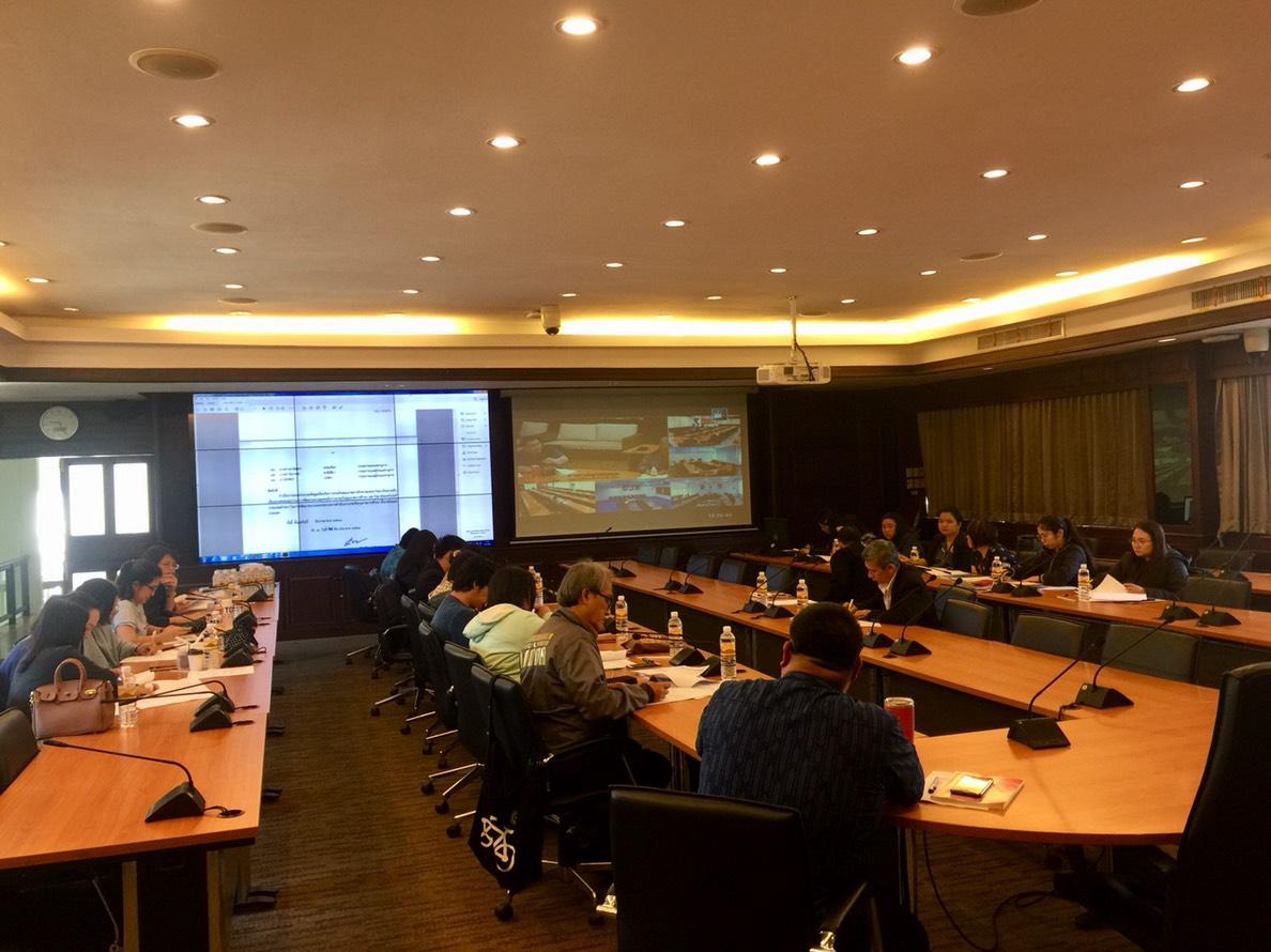 การประชุมคณะอนุกรรมการพัฒนาระบบและกลไกการประกันคุณภาพการศึกษา มทร.ล้านนา ครั้งที่ 1/2562