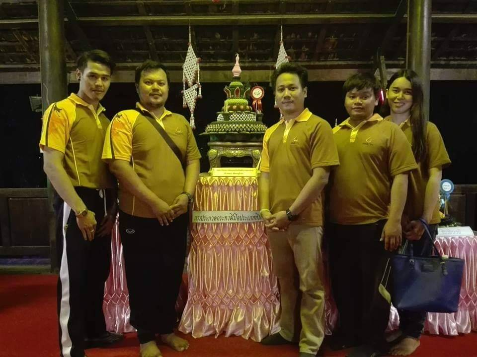 RMUTL Phitsanulok is the winner of Krathong competition