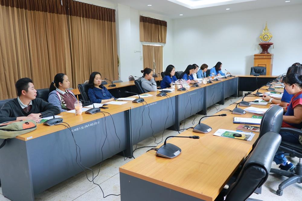 งานวิชาการ มทร.ล้านนา เชียงราย จัดการประชุมเตรียมความพร้อมการทดสอบการศึกษาระดับชาติ ด้านอาชีวศึกษา (V-NET)