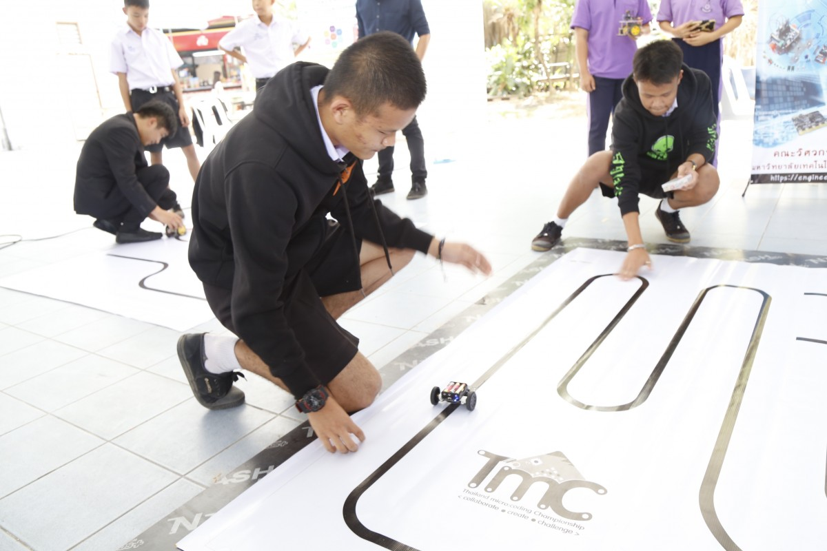 มทร.ล้านนา จัดเวทีประลองหุ่น Micro Bit ของโรงเรียนมัธยมในเครื่อข่ายโครงการพัฒนาคุณภาพการศึกษาฯ