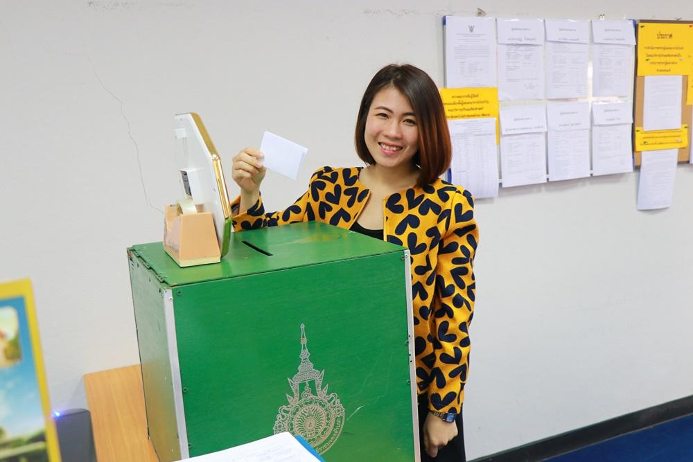 การเลือกตั้งลงคะแนนเสียงจากคณาจารย์ประจำ เพื่อเลือกตัวแทนเป็นกรรมการสรรหาผู้สมควรดำรงตำแหน่งคณบดี