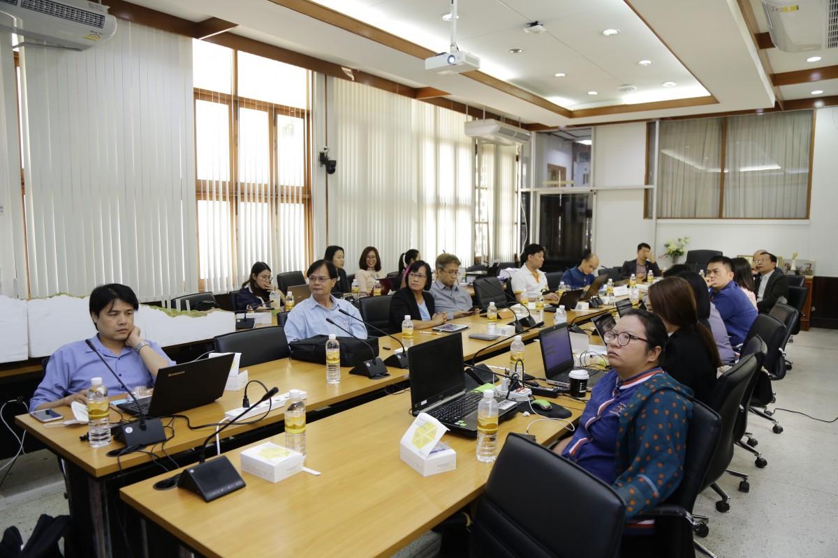 การประชุมเพื่อนำเสนอร่างรายงานฉบับสมบูรณ์ ทุนวิจัยนวัตกรรมเพื่อการพัฒนาภาคเหนือ