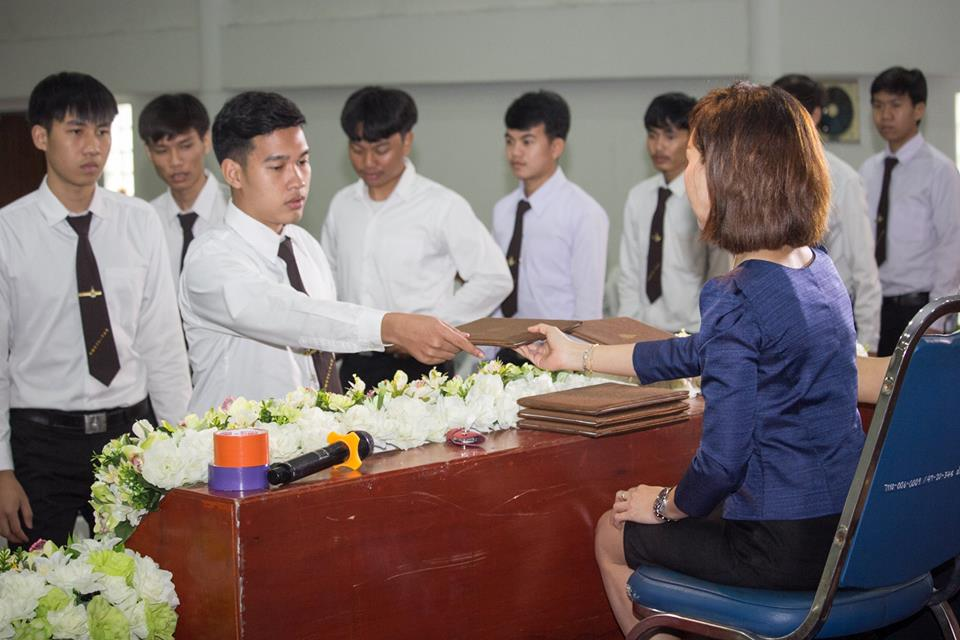 ซ้อมรับประกาศนียบัตรนักศึกษา ปวส. ปีการศึกษา 2561