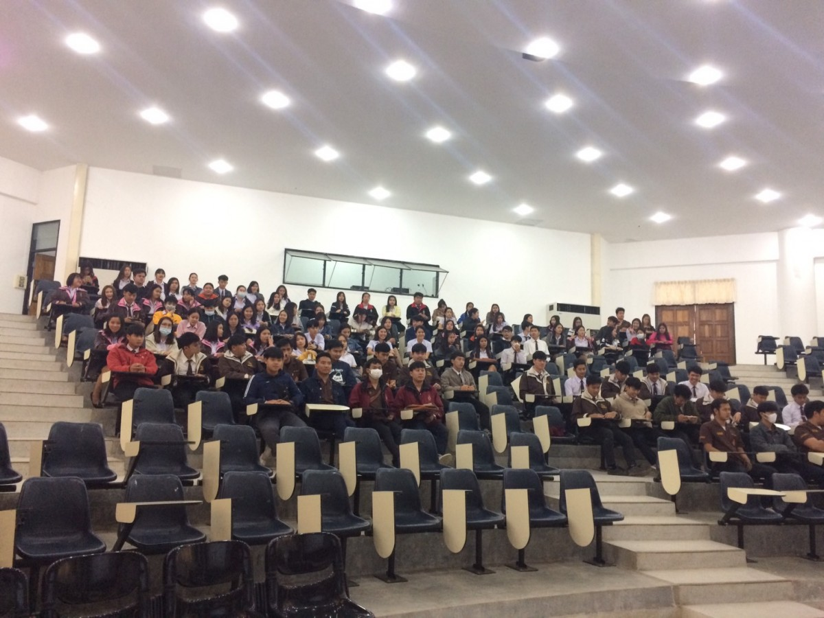 กิจกรรมปฐมนิเทศนักศึกษาฝึกงาน ประจำปีการศึกษา 3/2561