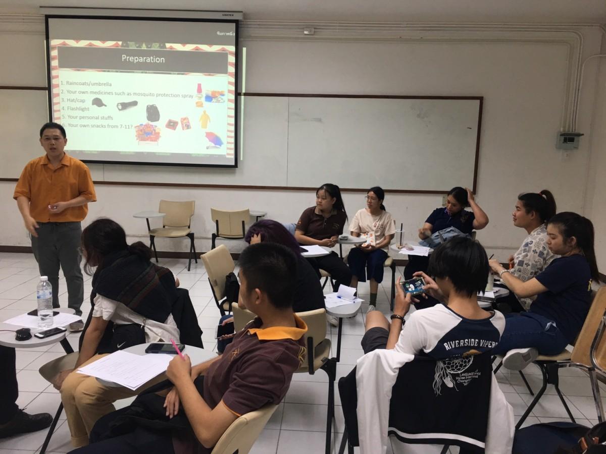 กิจกรรม English Classes for Learning Express 2019 students วันที่ 3