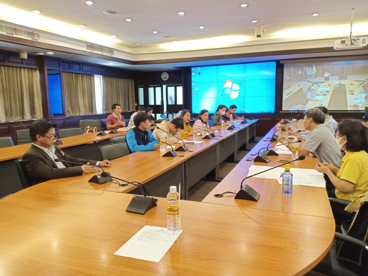การประชุมเตรียมงานโครงการสืบสานประเพณีปีใหม่เมือง วัฒนธรรมสานสัมพันธ์องค์กร ประจำปี 2562
