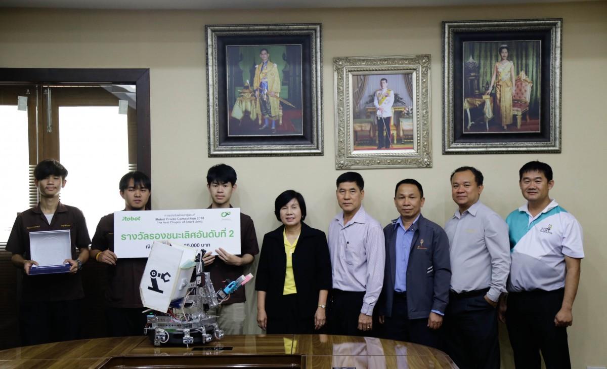ทีม KSR Lanna  คว้ารางวัลรอง อันดับสอง หุ่นยนต์ iROBOT Create – The Next Chapter of Living