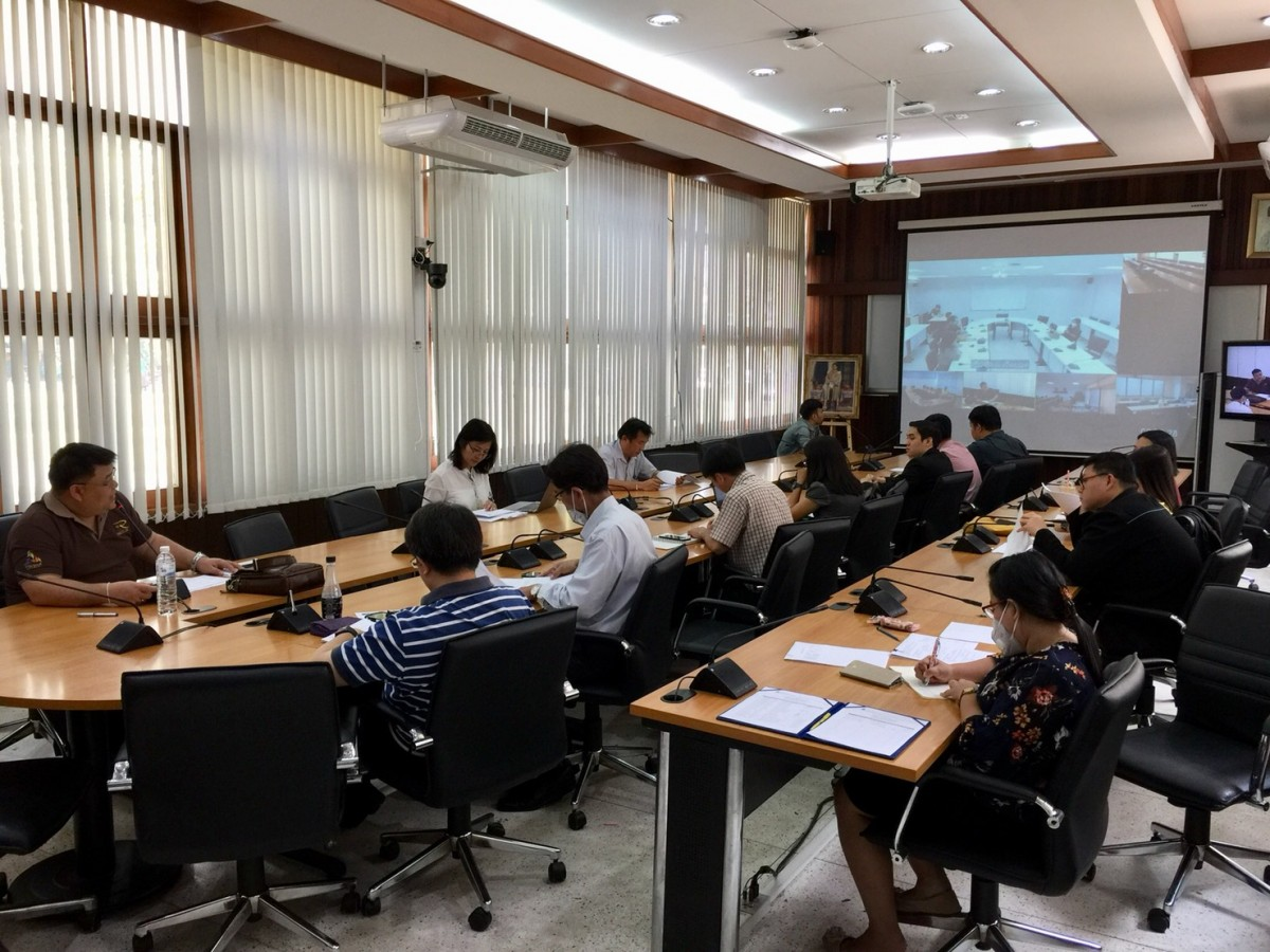 Meeting of the risk service working group at the faculty level and university level