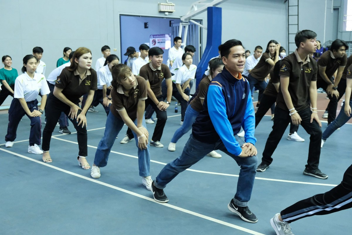RMUTL students joined Sports for Health activity and Recreation (Role Model)