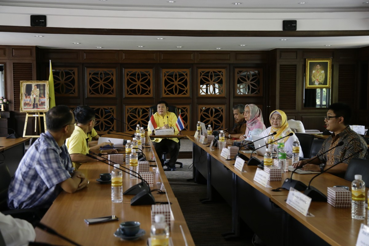 The representatives of Brawijaya University, Indonesia joined to consult about the academic cooperation development