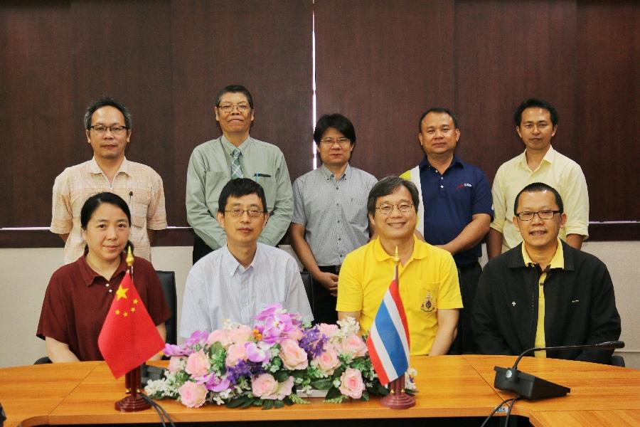 Shanghai Jiao Tong University เข้าร่วมหารือความร่วมมือทางวิชาการ กับคณะวิศวกรรมศาสตร์ มทร.ล้านนา