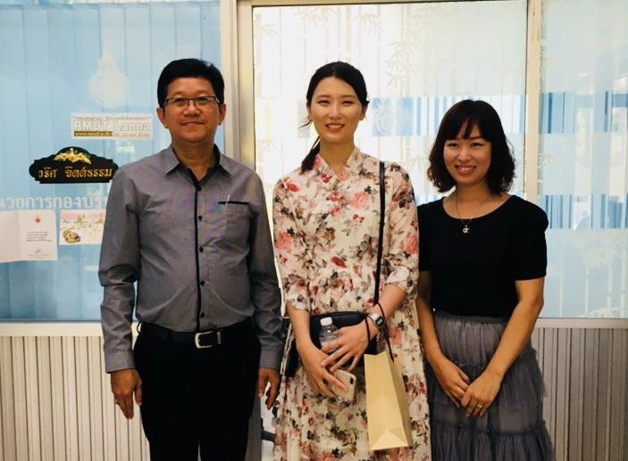 ต้อนรับ อาจารย์อาสาสมัครจากประเทศเกาหลี  ขององค์การความร่วมมือระหว่างประเทศของเกาหลี (Korea International  Cooperation Agency:KOICA) ประจำประเทศไทย