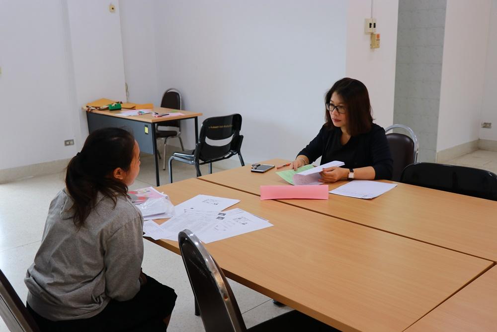 ภาพบรรยากาศการสอบสัมภาษณ์นักศึกษาใหม่ ประจำปีการศึกษา 2562 รอบ TCAS 5