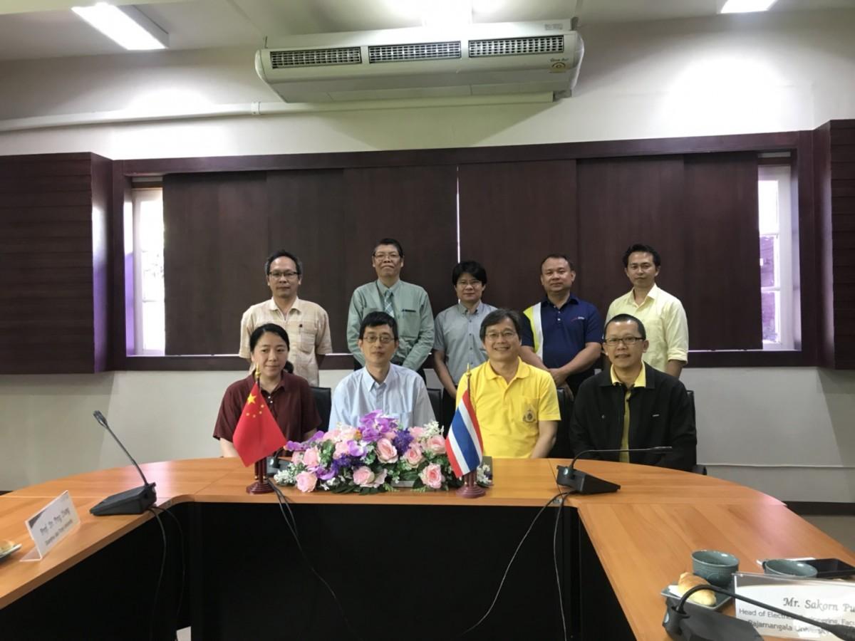 การประชุมร่วมกับคณะผู้แทนจาก Shanghai Jiao Tong University สาธารณรัฐประชาชนจีน