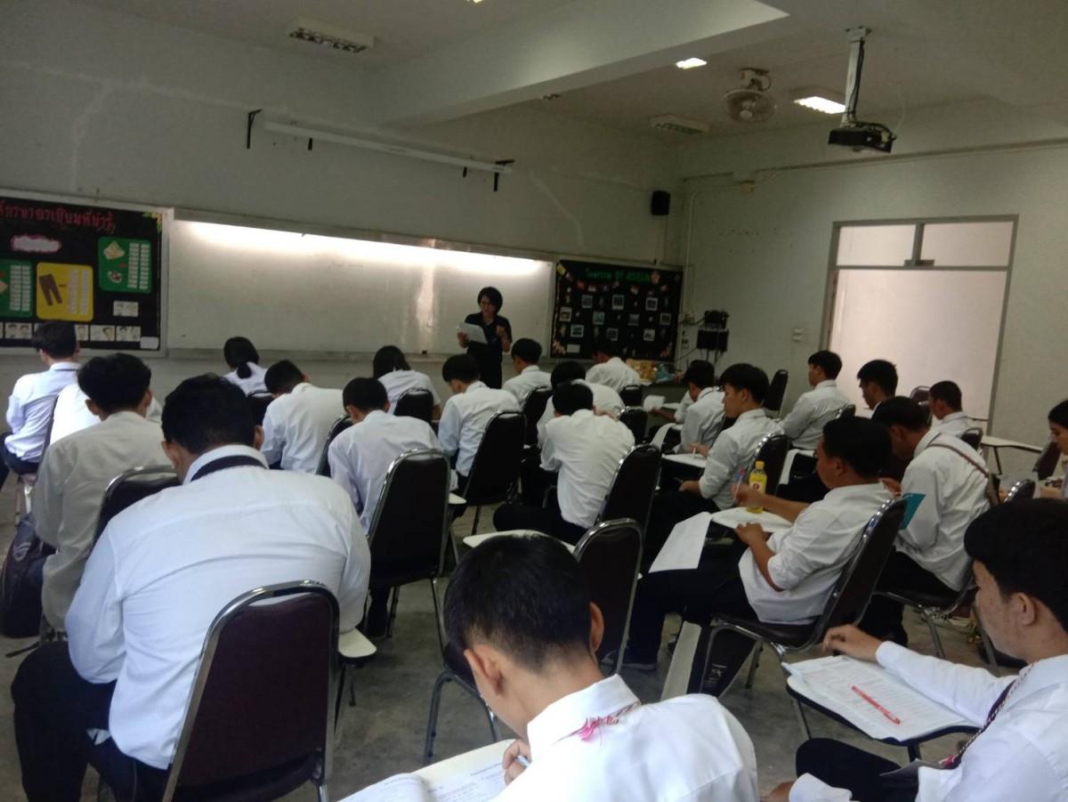 ภาพบรรยากาศวันแรกของการเรียนปรับพื้นฐาน นักศึกษาใหม่ประจำปีการศึกษา 2562 สังกัดคณะวิศวกรรมศาสตร์