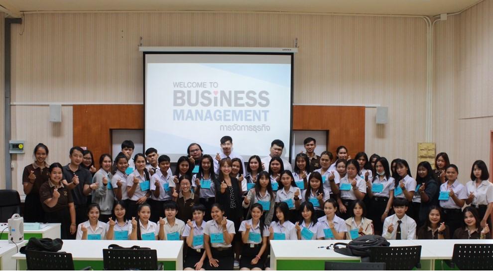 คณะบริหารธุรกิจและศิลปศาสตร์ มทร.ล้านนา พิษณุโลก เปิดโครงการเตรียมความพร้อมสำหรับนักศึกษาใหม่ ประจำปีการศึกษา 2562