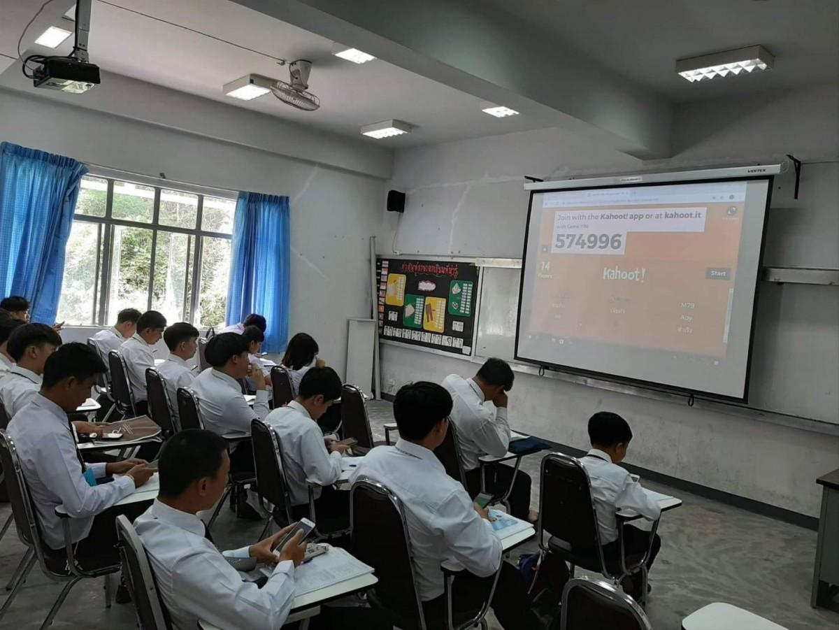 ภาพบรรยากาศการเรียนการสอนปรับพื้นฐานภาษาอังกฤษวันที่สอง นักศึกษาใหม่ 2562