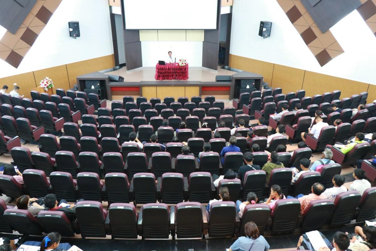 มทร.ล้านนา เชียงราย จัดโคงการปฐมนิเทศนักศึกษา ปีการศึกษา ๒๕๖๒ นักศึกษาในโคงการทุนนวัตกรรมสายวิาชีพชั้นสูง