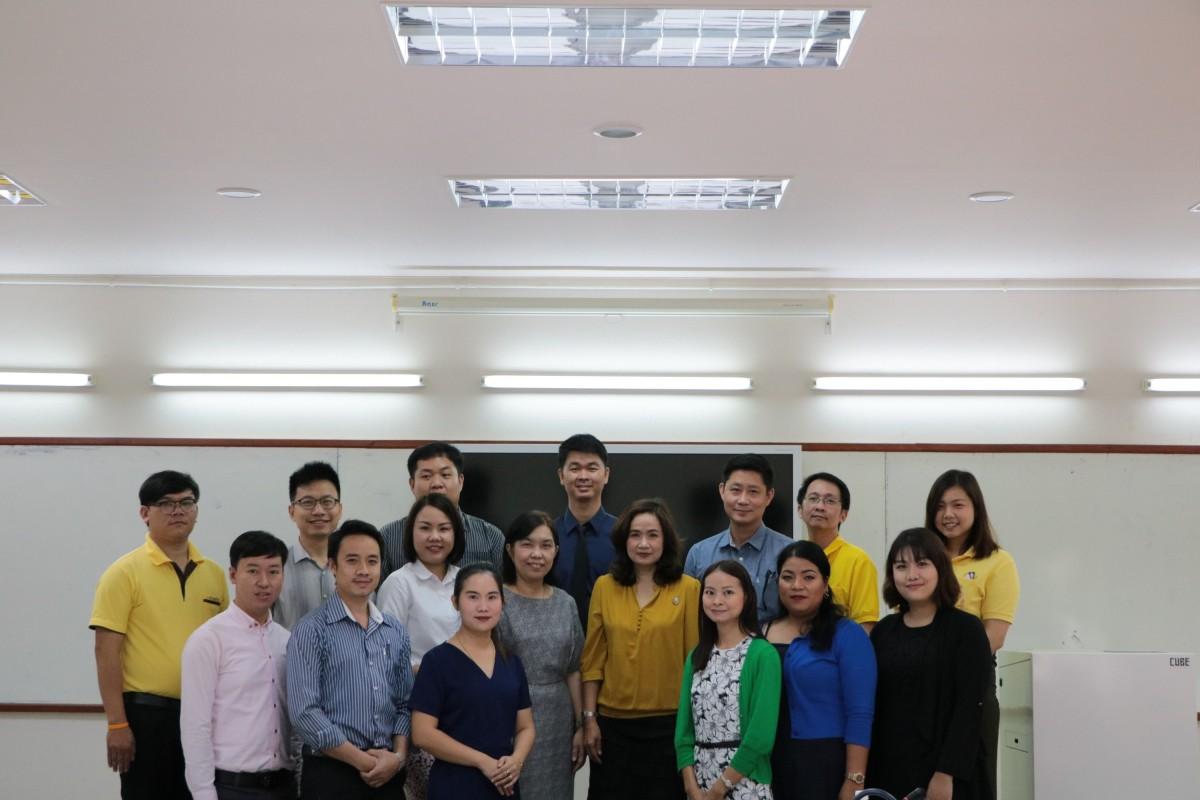 การต้อนรับและแนะนำพนักงานในสถาบันอุดมศึกษา  ที่ได้รับการบรรจุใหม่ ครั้งที่ 1/2561 และครั้งที่ 1/2562