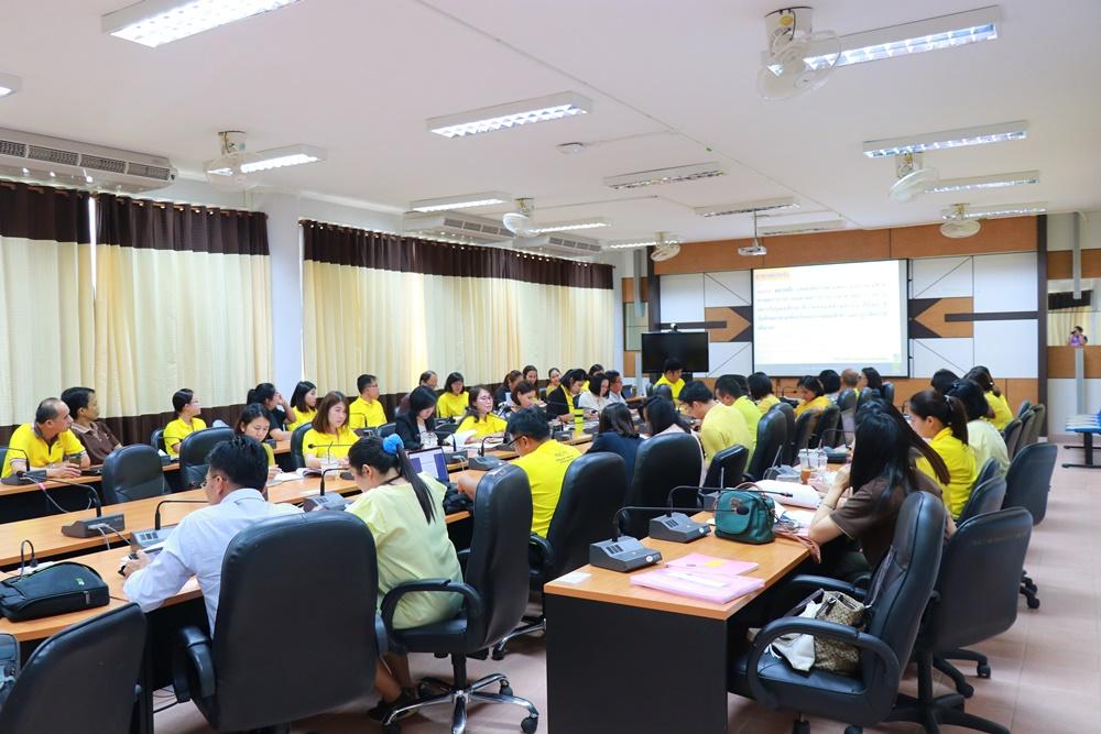 งานประกันคุณภาพการศึกษา จัดโครงการกำกับติดตามผลการดำเนินงานประกันคุณภาพการศึกษา ประจำปีการศึกษา 2562