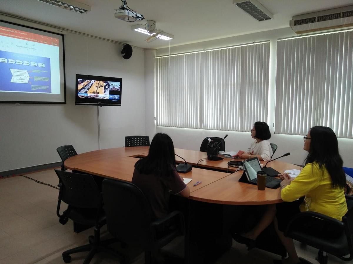 มทร.ล้านนา เชียงราย เข้าร่วมการประชุมการพัฒนาระบบสารสนเทศสนับสนุนการประเมินผลการปฏิบัติงานบุคลากร