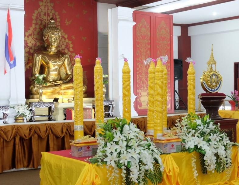 โครงการส่งเสริมพระพุทธศาสนาเนื่องในวันเข้าพรรษา