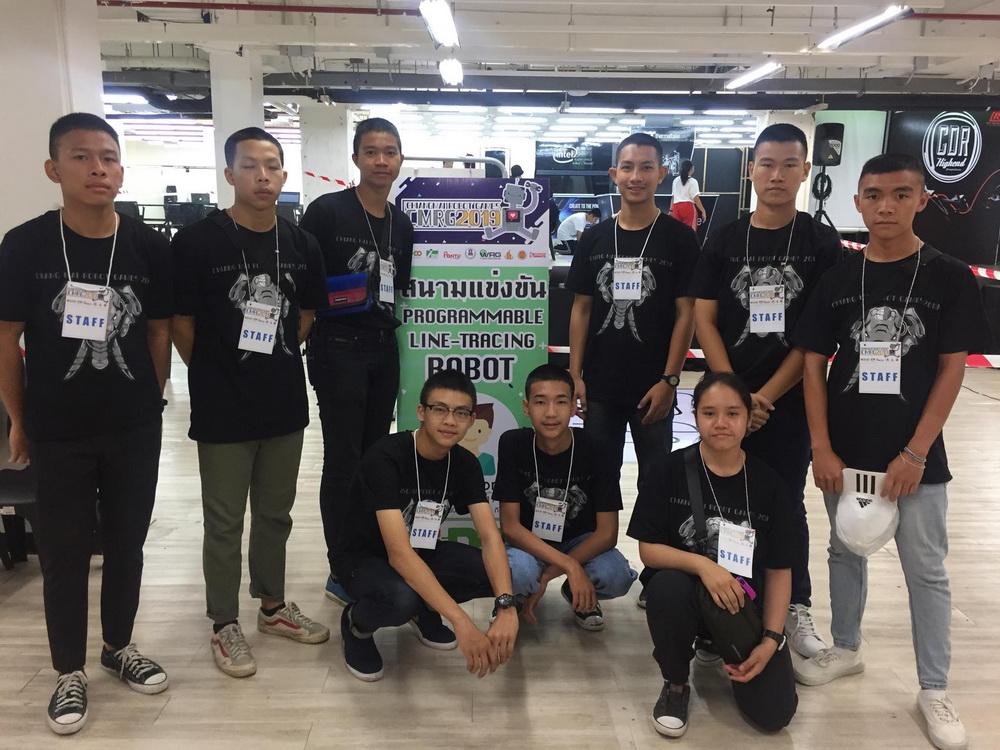 เด็กเตรียมวิศวกรรมศาสตร์ เข้าร่วมเป็นคณะกรรมการจัดการแข่งขัน ChiangMai Robot Game 2019 ณ ศูนย์การค้าพันธุ์ทิพย์ เชียงใหม่