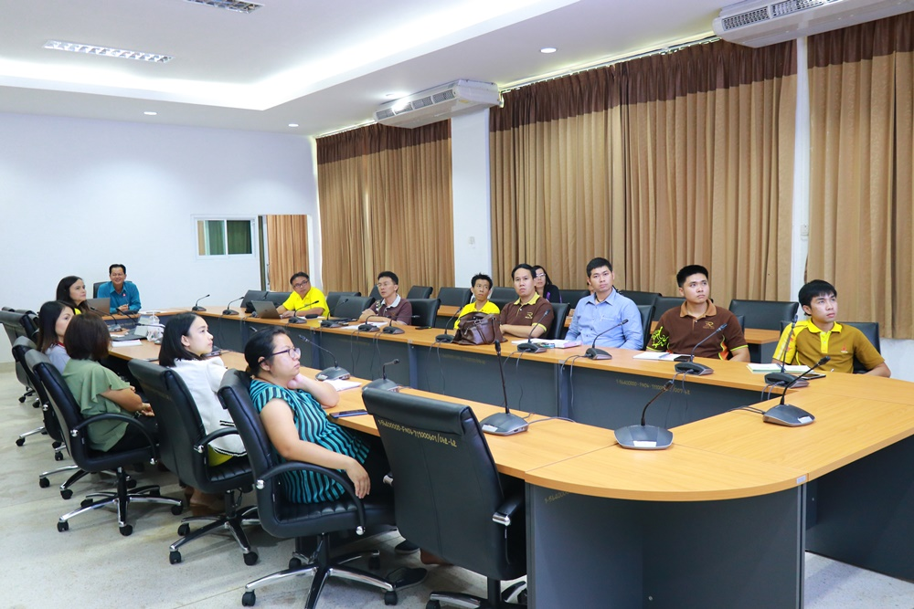 ประชุมสรุปการดำเนินการโครงการจัดการศึกษาไตรภาคีเพื่อผลิตกำลังคนด้านนวัตกรรมสายอาชีพอุตสาหกรรมชั้นสูง โดยกองทุนเพื่อความเสมอภาคทางการศึกษา (กสศ.)