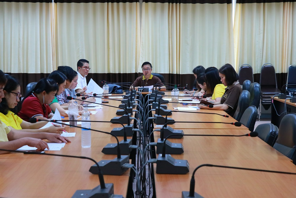 มทร.ล้านนา เชียงราย จัดการประชุมคณะกรรมการดำเนินงานพิธีซ้อมรับพระราชทานปริญญาบัตร ประจำปีการศึกษา 2561