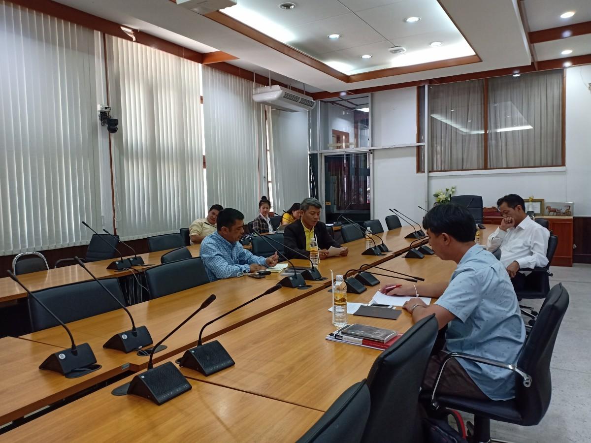 ศูนย์วัฒนธรรมศึกษา ร่วมกับ 3 คณะ ประชุมวางแผนการดำเนินงานโครงการสืบสานวัฒนธรรมประเพณียี่เป็ง และโครงการเผยแพร่องค์ความรู้เรื่องกฐิน ประจำปี 2562