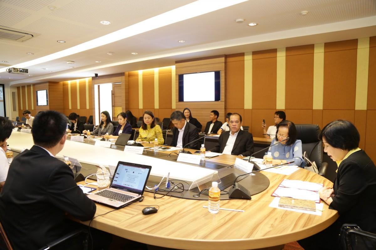 การประชุมคณะกรรมการ ศูนย์ TVET HUB LANNA แลกเปลี่ยนเรียนรู้การดำเนินโครงการเพื่อให้สอดคล้องกับความต้องการด้านกำลังคนในภาคอุตสาหกรรม