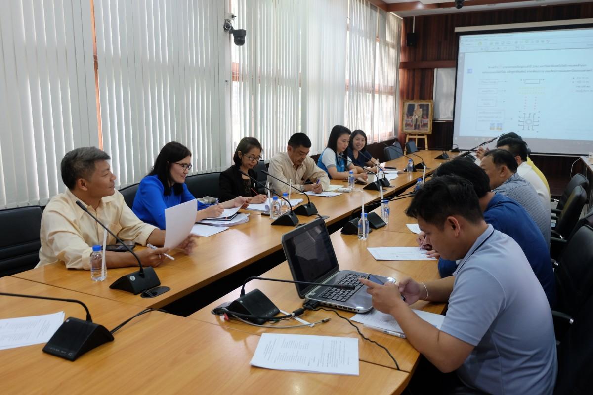 ศูนย์วัฒนธรรมศึกษา จัดการประชุมเตรียมความพร้อมในการเข้าร่วมกิจกรรมประกวดขบวนกระทงใหญ่ ประจำปี พ.ศ.2562 ครั้งที่ 2