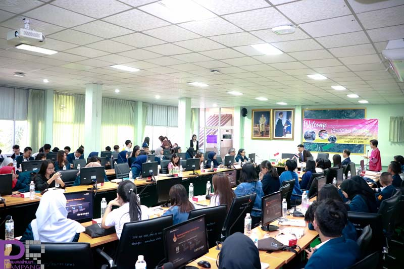 คณะวิทย์ฯ มทร.ล้านนา จัดพิธีเปิดโครงการศึกษาแลกเปลี่ยนวัฒนธรรมนักศึกษาโครงการ BRIC  ห้องเรียนในไทย