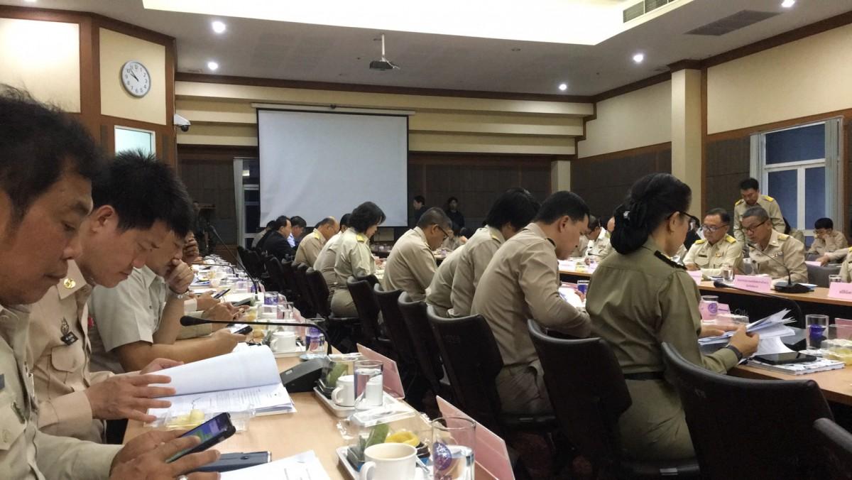 ผู้ช่วยอธิการบดี มทร.ล้านนา เชียงราย เข้าร่วมประชุมหัวหน้าส่วนราชการประจำจังหวัดเชียงราย ครั้งที่ 8/2562