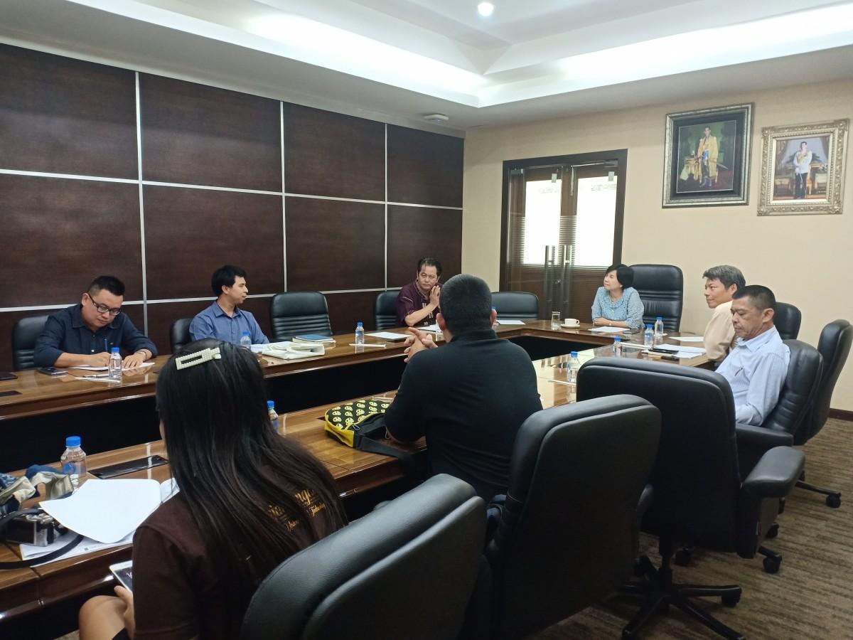 ศูนย์วัฒนธรรมศึกษา จัดการประชุมเตรียมความพร้อมในการเข้าร่วมกิจกรรมประกวดขบวนกระทงใหญ่ ประจำปี พ.ศ.2562 ครั้งที่ 3