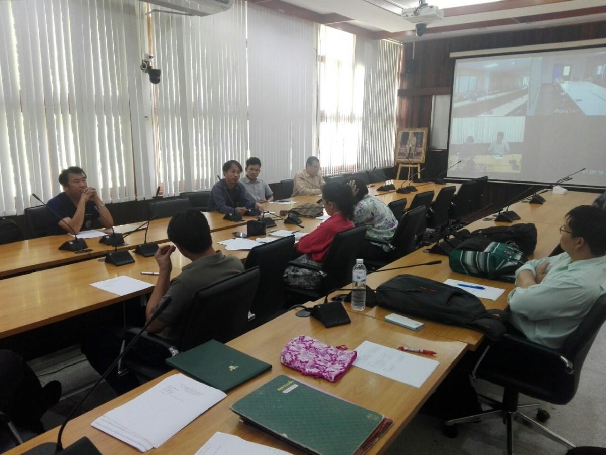 คณะวิศวกรรมศาสตร์ประชุม conference แผนพัฒนาและปรับปรุงหลักสูตร