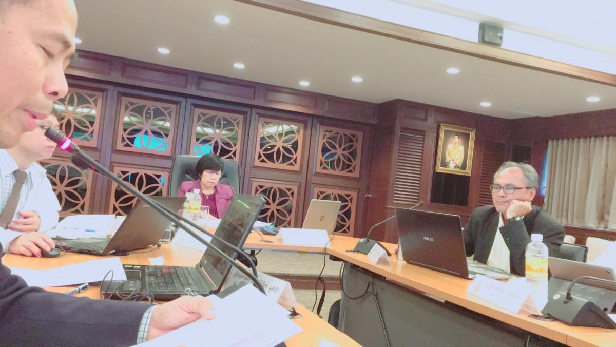 ผู้ช่วยอธิการบดี มทร.ล้านนา เข้าร่วมการประชุมคณะกรรมการบริหารมหาวิทยาลัย ครั้งที่ 11/2562