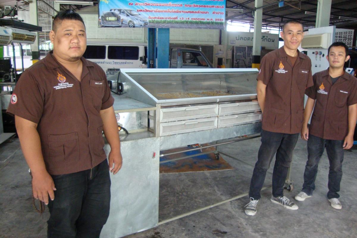 Bi-source-energy Khao Tan Dryer