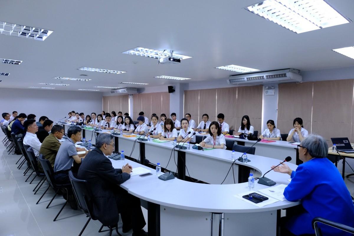 คณะศิลปกรรมและสถาปัตยกรรมศาสตร์จัดพิธีปฐมนิเทศนักศึกษาแลกเปลี่ยนจาก Guangxi Normal University (GNXU) สาธารณรัฐประชาชนจีน